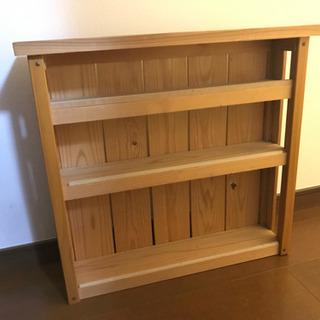 DIY 木製の飾り棚