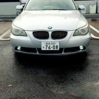 BMW525 車検令和3年4月 本革、サンルーフ
