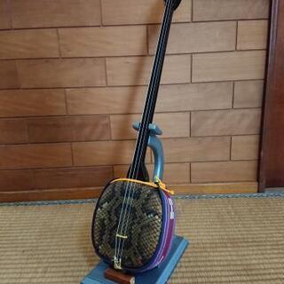 マイク内蔵ギター式三味線