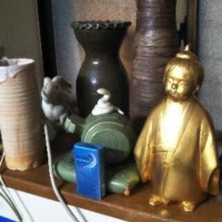 花瓶や置物