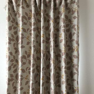 ニトリ遮光カーテン 110cm×2 2枚セット