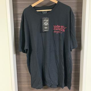 エドハーディ Tシャツ ブラック 大きいサイズ 4L 新品