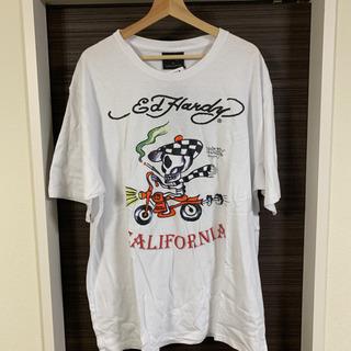 エドハーディ Tシャツ 白 大きいサイズ 4L 新品