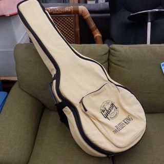 ギブソン ギターケース ソフトケース ベージュ 黒字 アコギ ア...