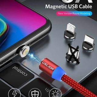 スマートフォン、タブレット、iPhone、マイクロUSB、マグネ...