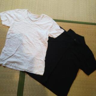 メンズ無地半袖シャツ GU indecent