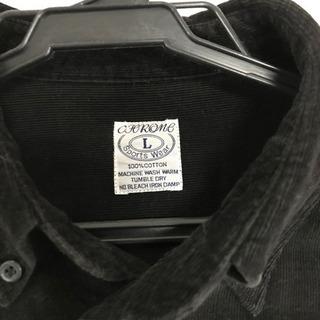 ネル生地シャツ