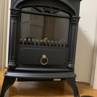 暖炉型ファンヒーター 暖房 ニトリ