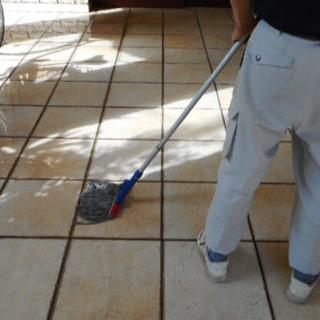 マンション共用部清掃
