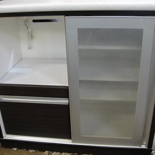 キッチンカウンター キッチンボード キッチン収納 レンジボード ...