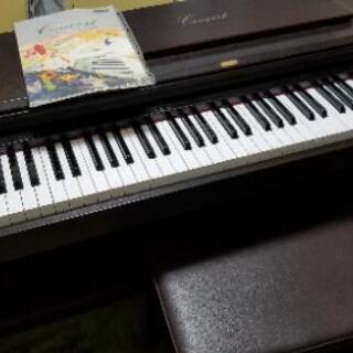 【受渡し予定者が決まりました】電子ピアノ(korg c303)