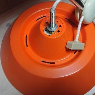 照明器具オレンジ ジャンク
