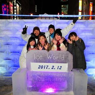 札幌雪祭りすすきの会場フォトサービススタッフ募集!