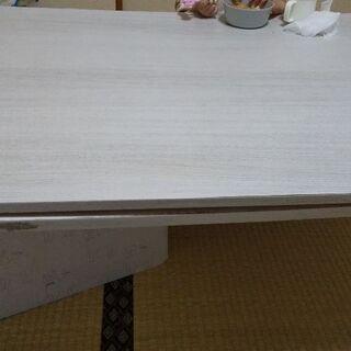 こたつテーブル 【ジャンク.追記あり】