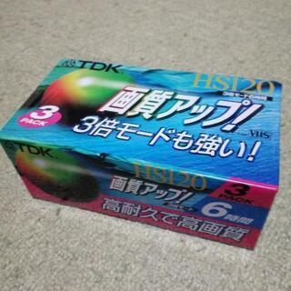 【未開封】ビデオテープ120分3本&カセットテープ150分2本