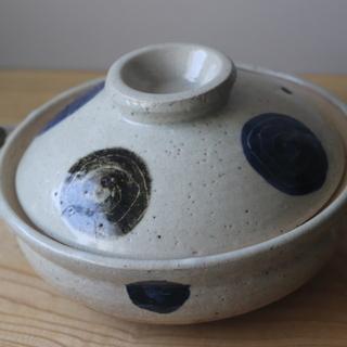 小さな土鍋 1〜2人用 口径約20センチ USED品(A)