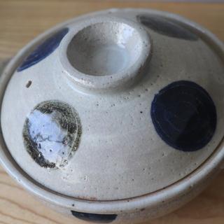 小さな土鍋 1〜2人用 口径約20センチ USED品(B)