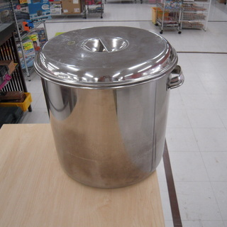 寸胴鍋 業務用 36cm ステンレス 容量:35L 苫小牧西店