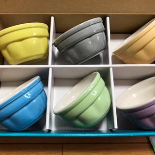 新品未使用の小鉢又はプリンカップ 6個セット