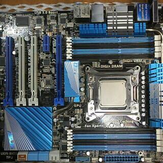 ASUS P9X79 DELUXE(LGA2011)/CPU/メ...
