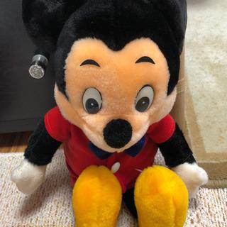 ミッキーマウス 昔のぬいぐるみ