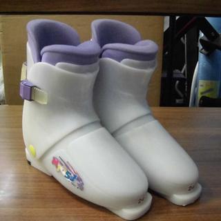 札幌 24cm スキー靴 子供用 マックーガー リアエント…