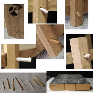 c496 扇棚 桐木地 つぼつぼ図 組み立て式 − 広島県