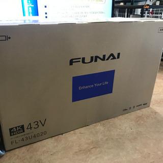 【★未開封★】4Kチューナー内蔵 ハードディスク1T内蔵 43型...