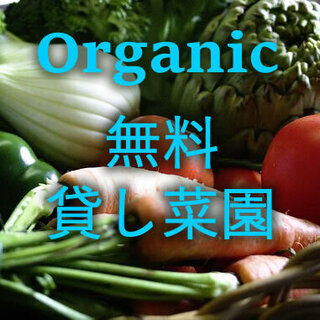 🍅🥬オーガニック貸し菜園!📌利用料無料です!📌肥料や道具使用等も...
