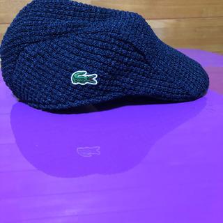 ラコステ、ハンチング帽