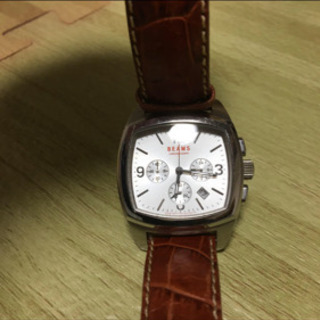 値下げBEAMS CHRONOGRAPH 腕時計