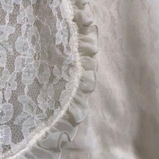 未使用 リバーシブルボレロ レース パーティ 結婚式 ストール - 服/ファッション