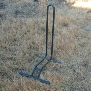 自転車スタンド L字型