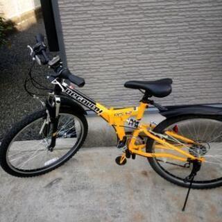 折りたたみ自転車26インチ18段変速