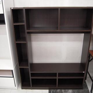 テレビボード 幅120×奥30行×高さ150cm 壁面収納 薄型...