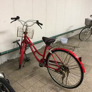 ジャンク自転車あげます(※お取引中)