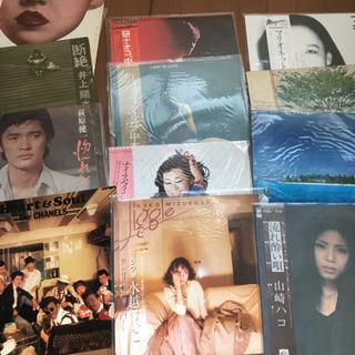 古いLPレコード、シングルレコード