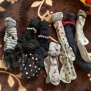 女の子靴下 新品未使用入り纏めてお譲り致します(*^^*)