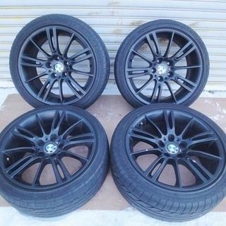 BMW タイヤ&ホイール 18インチ 4本セット 225/40Z...