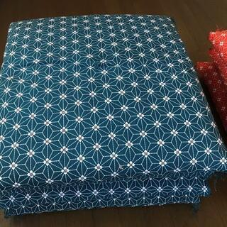 座布団 青10枚 枚数指定も承ります。