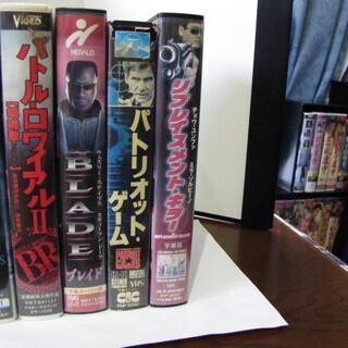 洋画邦画VHSビデオ5巻