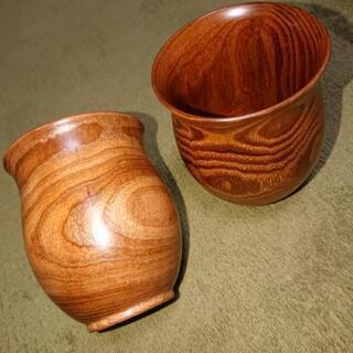 木のコップ