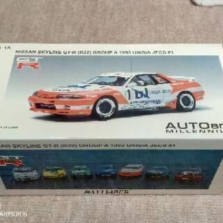 オートアート 1/18 スカイライン GT-R R32 レーシングカー