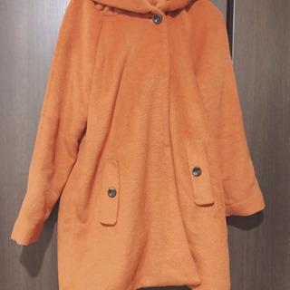 コート オレンジ
