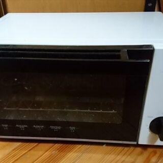 オーブントースター MT08BLV 900W 白 ニトリ