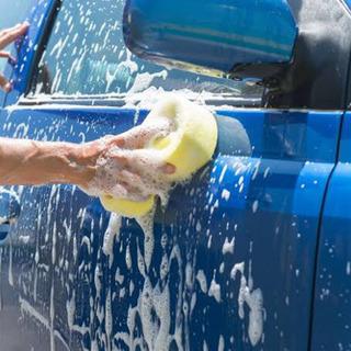 車の洗車&ルームクリーニング