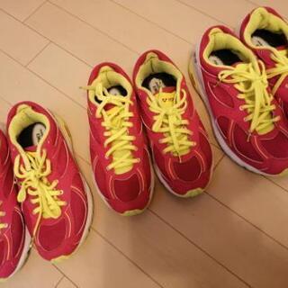 靴 スポーツシューズ 女子用 3足まとめ売り
