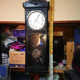 大きな古時計  稼働品(ゼンマイ式、振り子時計)