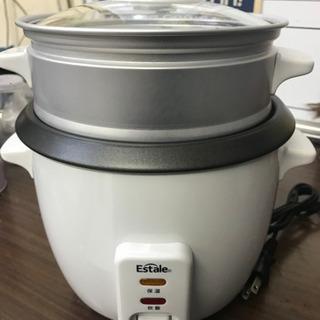 3合 炊飯器 スチーマー 蒸し器 Estale マクロス