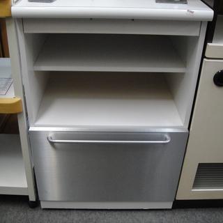 レンジボード レンジ台 キッチンカウンター 家電収納 ミドルボー...